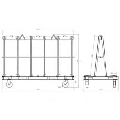 A-Frame 2440-QP