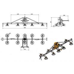 AMVL2200-10 Mechanical Vacuum Lifter