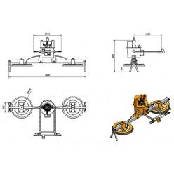 AMVL2200-2 Mechanical Vacuum Lifter