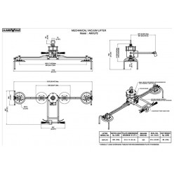 AMVL300-2 Mechanical Vacuum Lifter