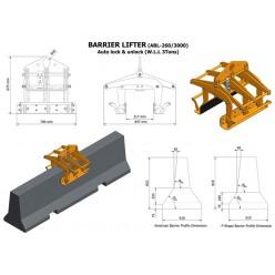 Barrier Lifter ABL-255/3000