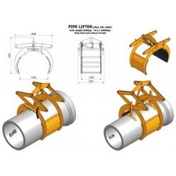 Concrete Pipe Lifter 4000