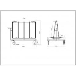 Demountable Frame - DFF 1500