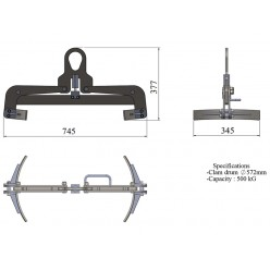 Drum Clamp 572