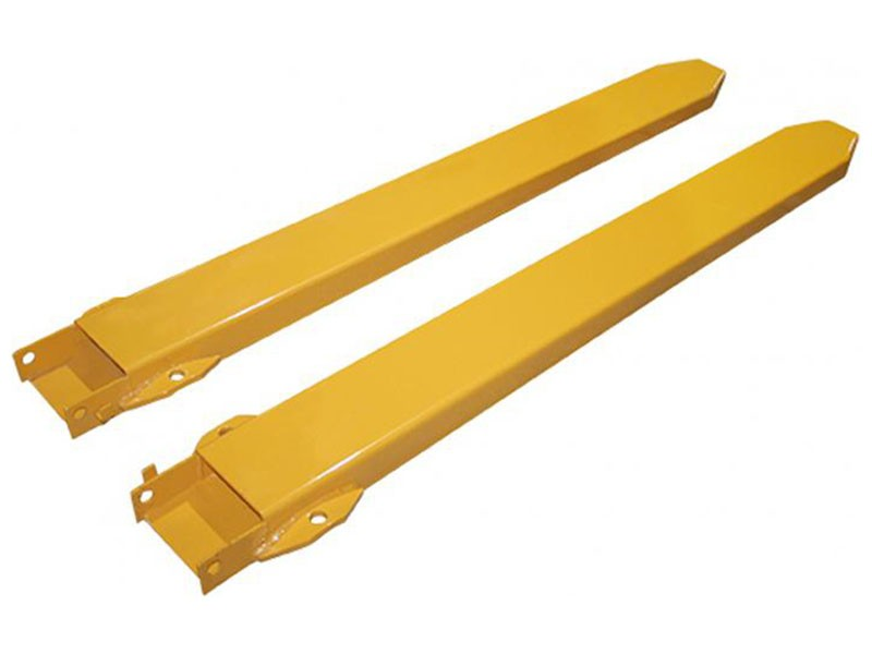 Fork Lift Extensions : Fork extensions heavy duty pair