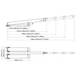 Forklift Jib FB2-3580