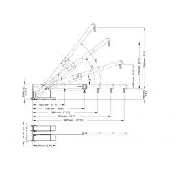 Pivot Forklift Jib PFB2-3450