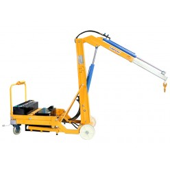 Powered Counterbalance Crane with Lateral Movement