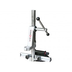 Single Base Drill Stand + Adjustable Guide