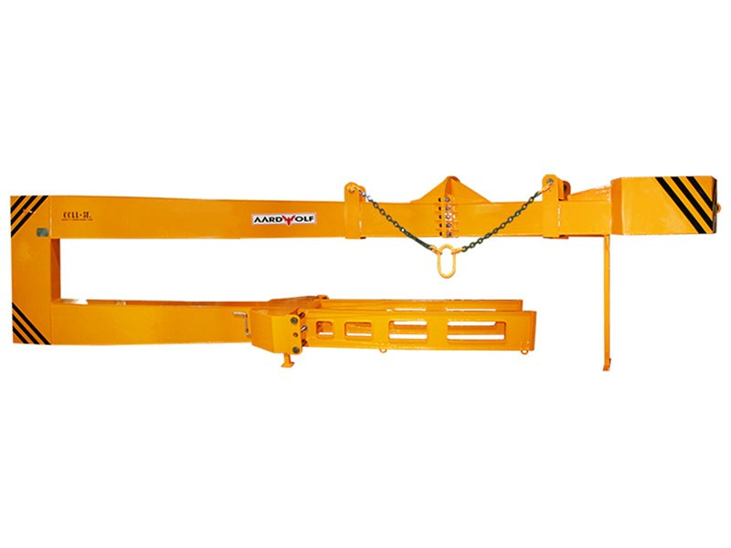 Forklift Pipe Handling Attachment Clamps Come To Grips