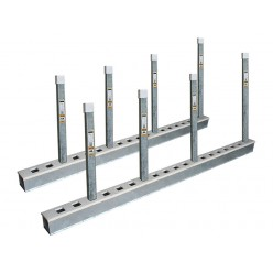 Work Shop Rack - 2.44m