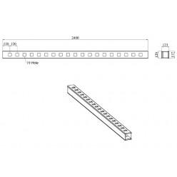 Work Shop Rack - 2.44m